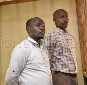 Rene Rutagungira and a fellow suspect